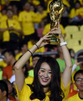 China wants to host soccer World Cup