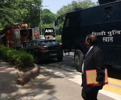 Bomb threat at Delhi HC