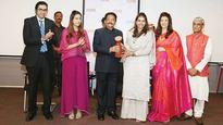 Navyata Goenka honoured with the Young Women Achievers' Award by Guv