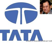 Tata Motors VP, Neeraj Garg quits after just 7 months