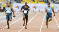 Impressive wins for Gatlin, Rud...