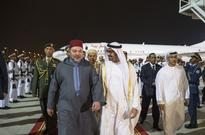 Mohamed Bin Zayed receives king of Morocco