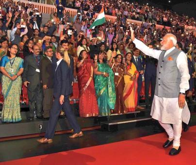 Modi addresses Indian diaspora in Netherlands