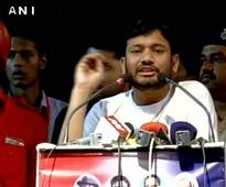 Ruckus during Kanhaiya's event in Patna, two detained