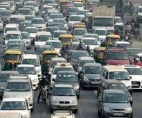 Odd-even: 10L vehicles off road daily