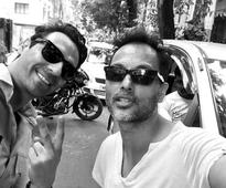 Arjun Rampal announces wrap up of Kahaani 2 shoot with behind the scenes pictures with Vidya and Sujoy!