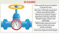 Apparel factories grind to a halt for gas crisis