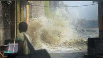 In Pics: High tide in Mumbai