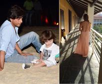 AbRam is Always on Set with Shah Rukh, Complains Gauri Khan