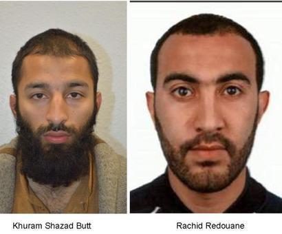 London Bridge attack: 2 attackers identified