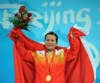 Three Chinese 2008 Olympic champions test positive after IWF re-analyse samples