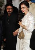 PIX: Hrithik, Aishwarya, Rekha party with Sanjay Bhansali