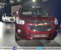 2016 Auto Expo: Chevrolet Spin MPV Showcased