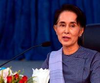 Aung San Suu Kyi: You can call my country Myanmar or Burma