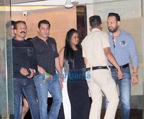 Salman Khan and others snapped at Arpita Khan & Ayush Sharma's wedding anniversary…
