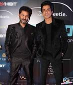 Sonu Sood and Prabhu Deva walks the ramp for Designer Rajat Tangri at Tech Fashion Tour 2016