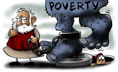 How Modi can solve India's Poverty Problem