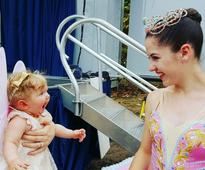 Little Girl's Reaction to Seeing a Ballerina Is Too Much Cuteness to Handle