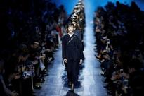 Dior sees blue, Issey Miyake looks to northern lights at Paris shows