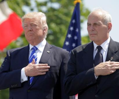 Trump replaces Chief of Staff Priebus, appoints John Kelly