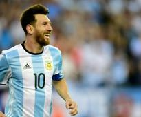 Argentina football team to say today if Messi in squad