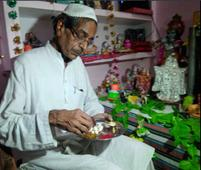 Muslim man Dr S. Ahmed and family celebrate Janmashtami in Kanpur
