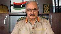 Khalifa Haftar leaves Egypt after a two-day visit