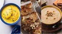 From Kheers to Shahi Tukra, try these five dessert recipes for every celebration