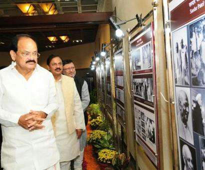 Patel's great contribution was the IAS: Naidu