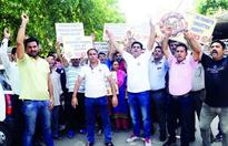 YAIKS holds protest against anti-national elements