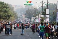 Odisha capital city Bhubaneswar experienced first Raahgiri day