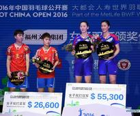 Chinese shuttlers stunned by missing all titles of China Open