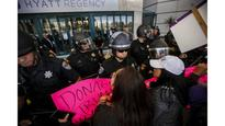 Anaheim police brace for Trump protests after clashes in New Mexico