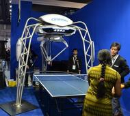 Meet FORPHEUS, the World's First Robot Table Tennis Tutor