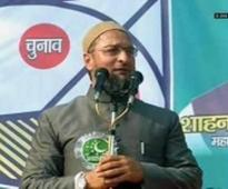 Owaisi takes on Mulayam, calls for 'Jai Bhim, Jai Meem'