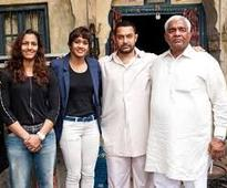 Women need to be celebrated every day,Phogat sisters