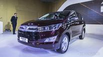 Toyota Innova Crysta confirmed for launch in May