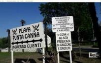 Owner of Fascist beach club in Italy ordered to remove offensive signs and odes to Mussolini