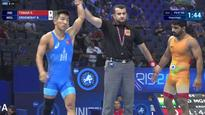 World Wrestling Championships: India remain medal-less after Sandeep Tomar loses second repechage