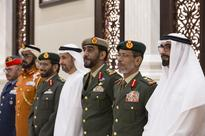 Sheikh Mohammed bin Zayed meets Armed Forces officers at iftar reception - in pictures