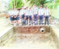 See how this Ranchi school saves water