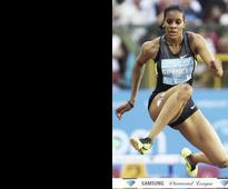 Top athletes compete at national championships
