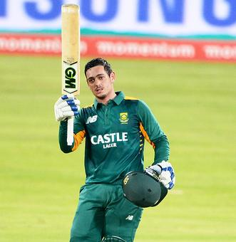 Record man De Kock, Amla strike tons to help Proteas sink England