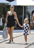 Alex Gerrard looks leggy in cute playsuit with her lookalike family