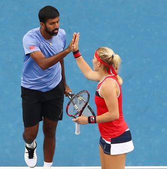 Aus Open: Bopanna-Babos in mixed doubles semis