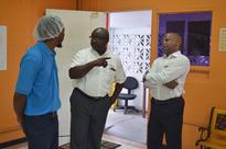 Minister Grant Continues Visits To Industrial Sites As Part Of The Thrust Of The Ministry Of Industry And Commerce