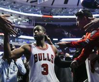 NBA: Dwyane Wade shines for Bulls against Boston Celtics in Chicago homecoming