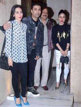 PIX: Karisma, Kareena's dinner party