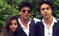 Happy Birthday Suhana: Shah Rukh Khan shares a picture with Suhana and Aryan