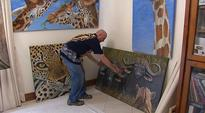 African art supporting a worthy cause (Gerda Jezuchowski, 7News Adelaide)